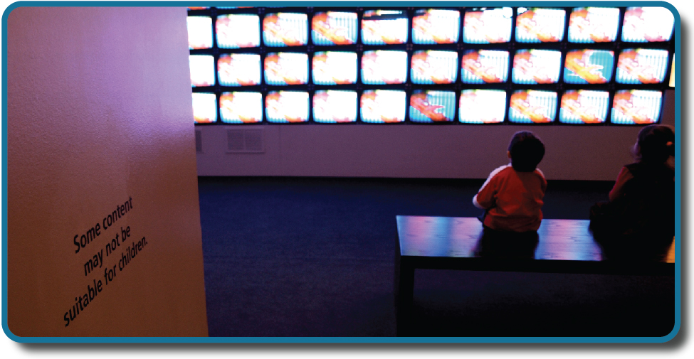"How does television content impact children's behavior? (credit: modification of work by ""antisocialtory""/Flickr)"