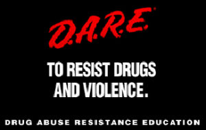 Figure 1.2 The D.A.R.E. program continues to be popular in schools around the world despite research suggesting that it is ineffective.